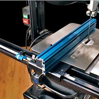 Bolster your band saw's accuracy with a precision Band saw Fence from Kreg.