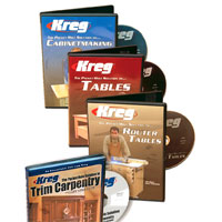 Accelerate your learning woodworking process with one of Kreg's® pocket hole instructional videos. The Pocket Hole