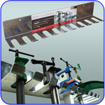 image of pipe clamp rack