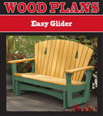 Easy Glider Woodworking Plan