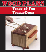 Tones-of-fun tongue drum Woodworking Plan