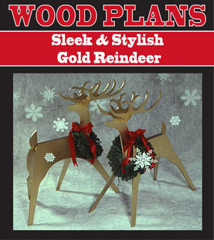 Sleek & Stylish Reindeer Woodworking Plans
