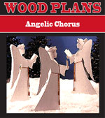 Angelic Chorus Woodworking Plan