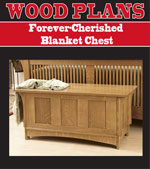 Forever-Cherished Blanket Chest Woodworking Plan