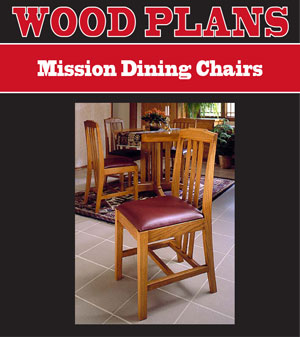 Mission Chairs Woodworking Plan