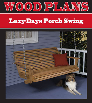 Lazy-Days Porch Swing