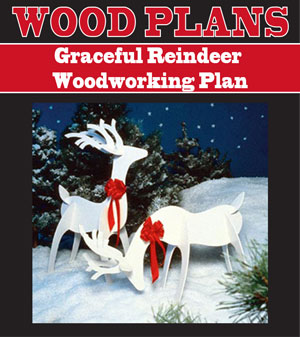 Graceful Reindeer Woodworking Plan