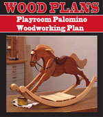 Playroom Palomino Woodworking Plan
