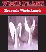 Heavenly Winds Angels Paper Woodworking Plan