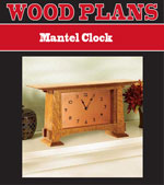 Mantel Clock Woodworking Plan