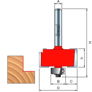 Freud Rabitteing Router Bit