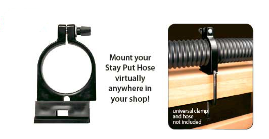 Stay Put Hose Mounting Bracket