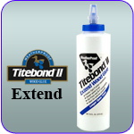 Link to Titebond II Extend Information
