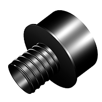 4 Inch To 2.25 Threaded Quick Connect Reducer