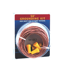 Dust Collection Hose Grounding Kit
