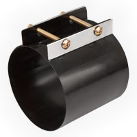 Steel Coupler for dust collection fittings