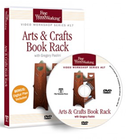 Arts & Crafts Book Rack