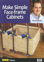 Make Simple Face-frame Cabinets DVD