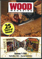 Wood Magazine 25 Years of Issues on 1 DVD