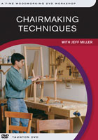 Chairmaking Techniques by Jeff miller - DVD