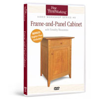Build a Frame and Panel Cabinet DVD
