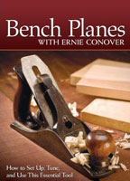 Bench Planes DVD with Ernie Conover