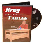 Kreg Tables DVD