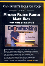 Mitered Raised Panels Made Easy DVD