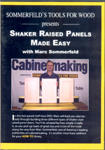 Shaker Raised Panels Made Easy with Marc Sommerfeld