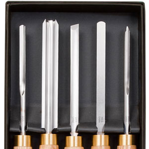 5 Pc Stone Mountain Turning Tool Set