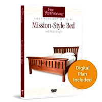 Mission-Style Bed Video  with Matt Berger (50 minutes)