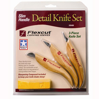 Slim-Handle Detail Knife Set KN400