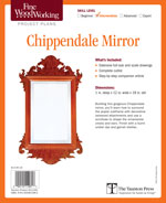 Fine Woodworking Chippendale Mirror Project Plan
