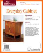 Fine Woodworking Everyday Cabinet Project Plan