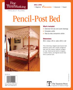 Fine Woodworking Pencil-Post Bed Project Plan
