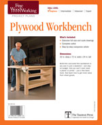 Fine Woodworking Plywood Workbench Project Plan