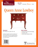 Fine Woodworking Queen Anne Lowboy Project Plan