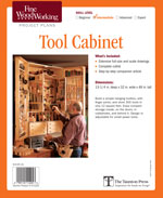 Fine Woodworking Tool Cabinet Project Plan