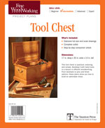 Fine Woodworking Tool Chest Project Plan