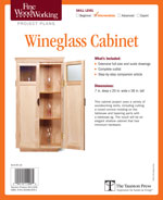 Fine Woodworking Wine Glass Cabinet Project Plan