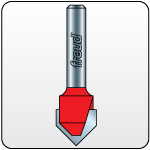 Link to Freud V-Groove Router Bits