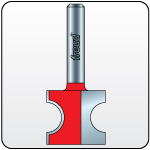 Link to Half Round Router Bits