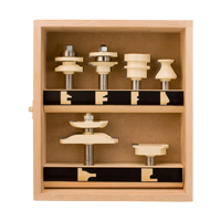 6 Piece Cabinet Makers Set (two flute)