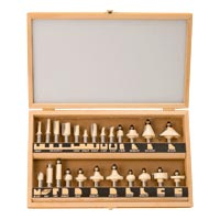 Stone Mountain 24 PC Router Bit Starter Set